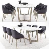 Dinning table set 8