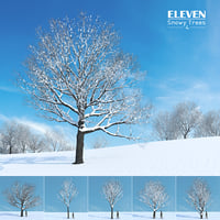 Eleven Trees 4 (Snowy)