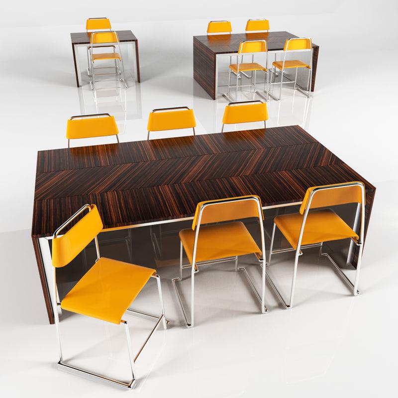 dinning table set 9 model