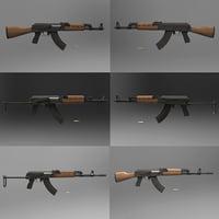 zastava m-70 rifles 3D