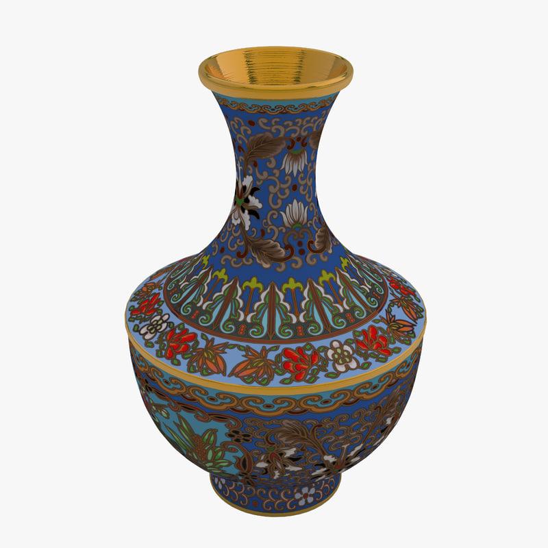3D vase 05 model