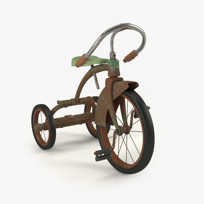 vintage child bicycle model