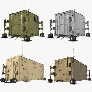 3D uav control containers