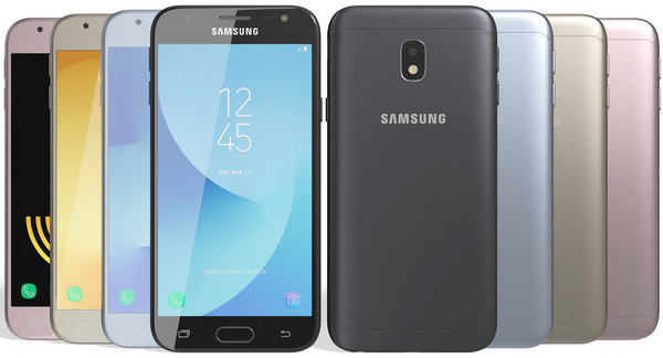 realistic samsung galaxy j3 model