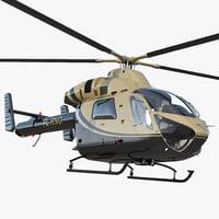 Light Private Jet Helicopter MD 902 Explorer