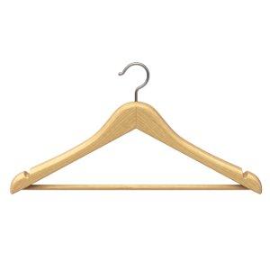 3D hanger cloth wood