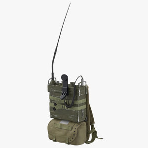 3D prc radio pack resting