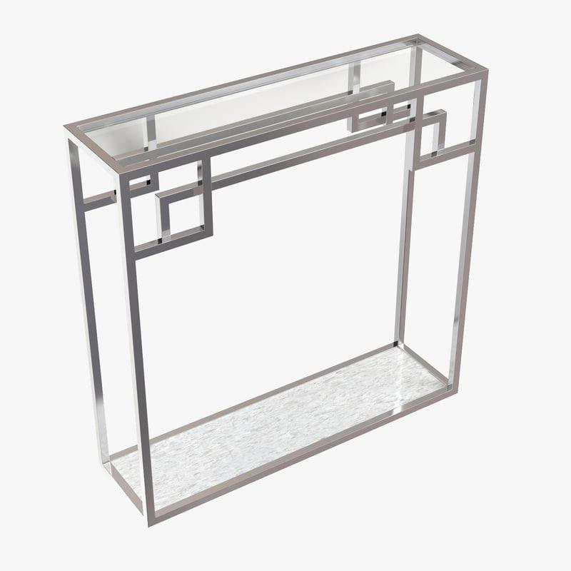 eichholtz console table morris 3D model
