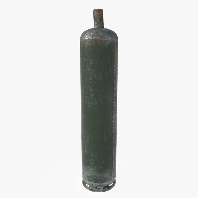 oxygen tank 3D