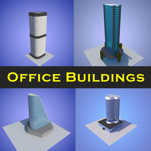 office buildings 5 3D model