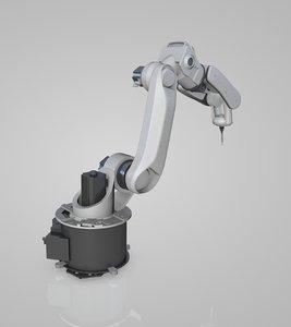industrial robot arms 3D model
