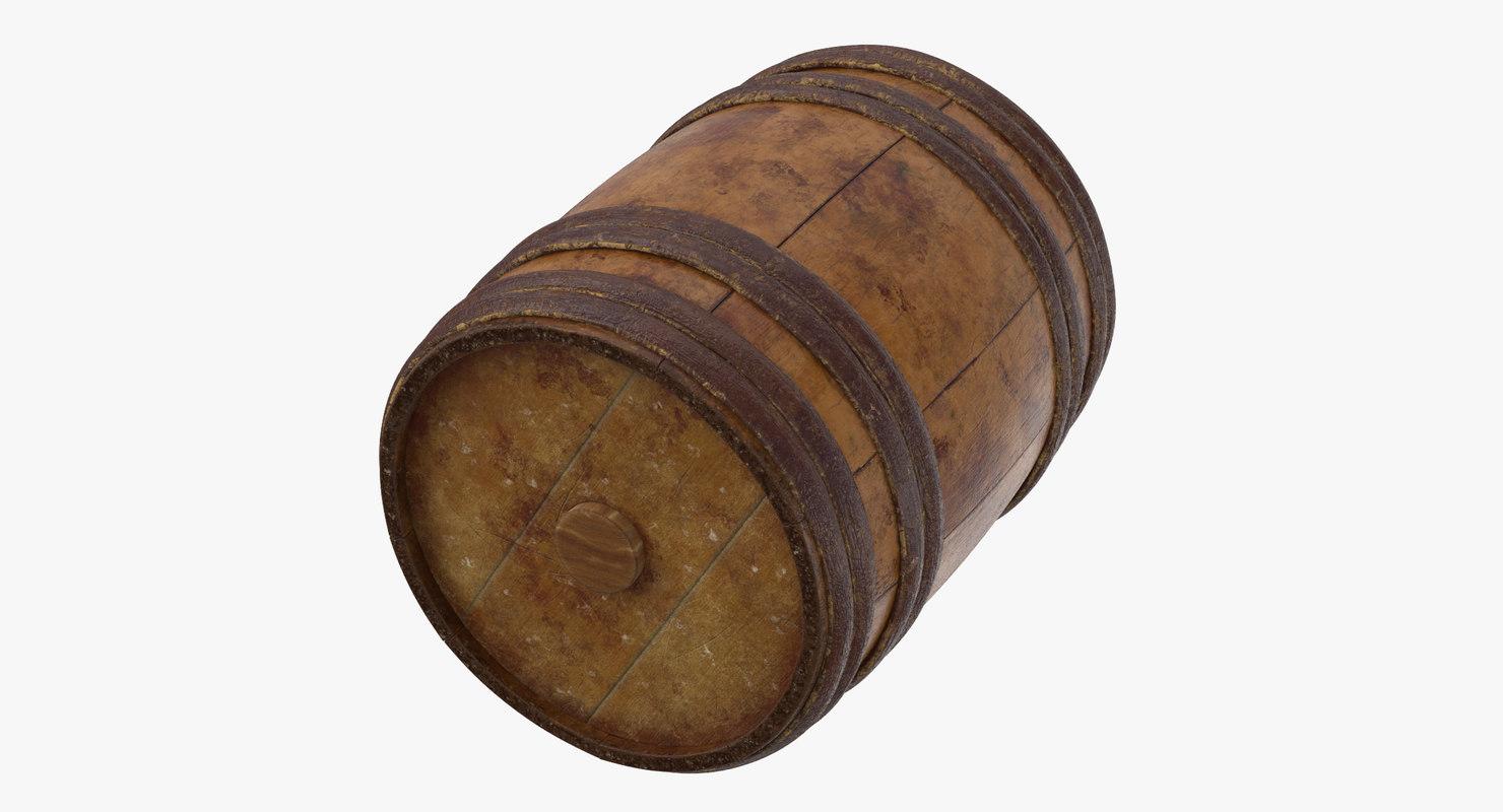 3D gunpowder keg