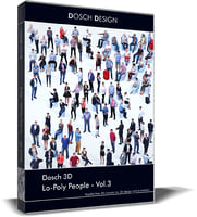 Dosch 3D - LoPoly People Vol 3