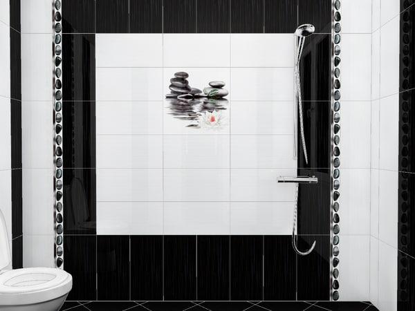 3D bathroom toilet shower