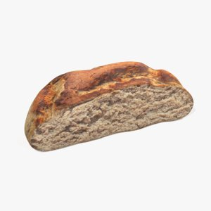 bread - half 3D model