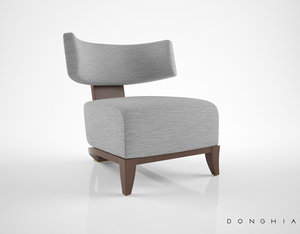3D donghia egos lounge chair