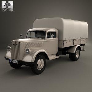 opel blitz 1940 3D