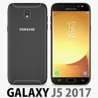 samsung galaxy j5 2017 3D model
