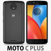 Motorola Moto C Plus 2017 Black
