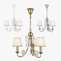 3D chandelier modesto lightstar 781030