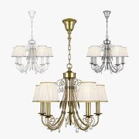 chandelier modesto lightstar 781050 3D
