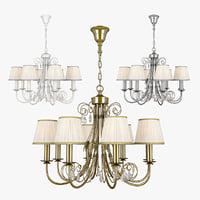 chandelier modesto lightstar 781080 3D model