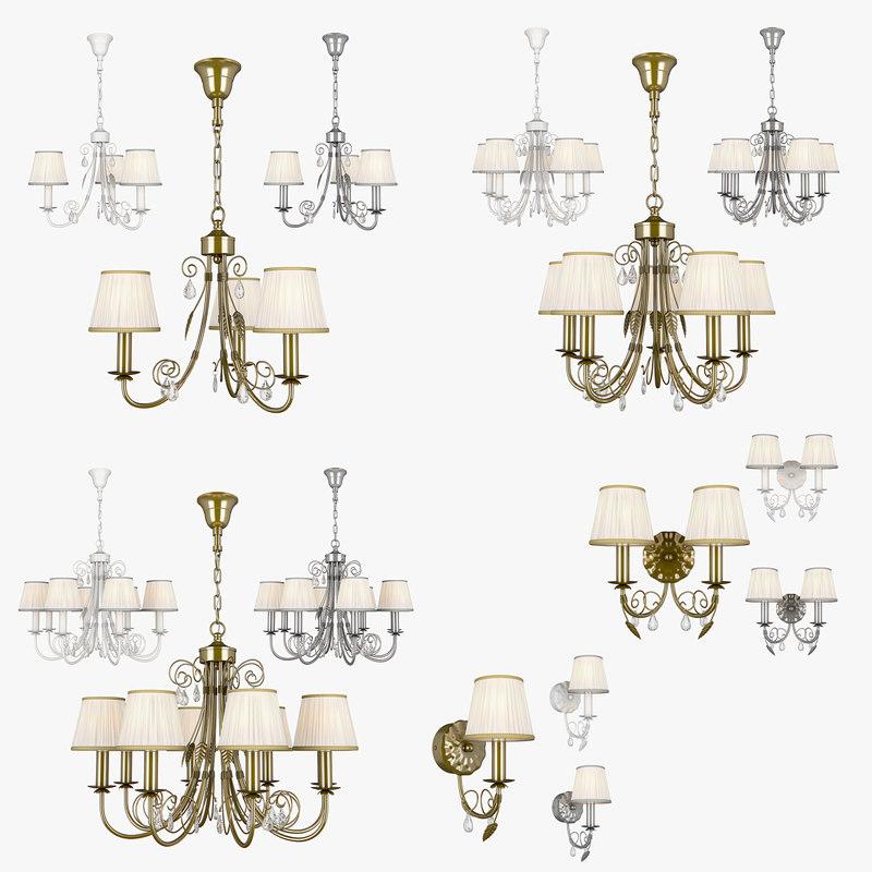 3D chandelier modesto lightstar