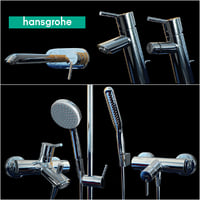 mixer hansgrohe 3D model
