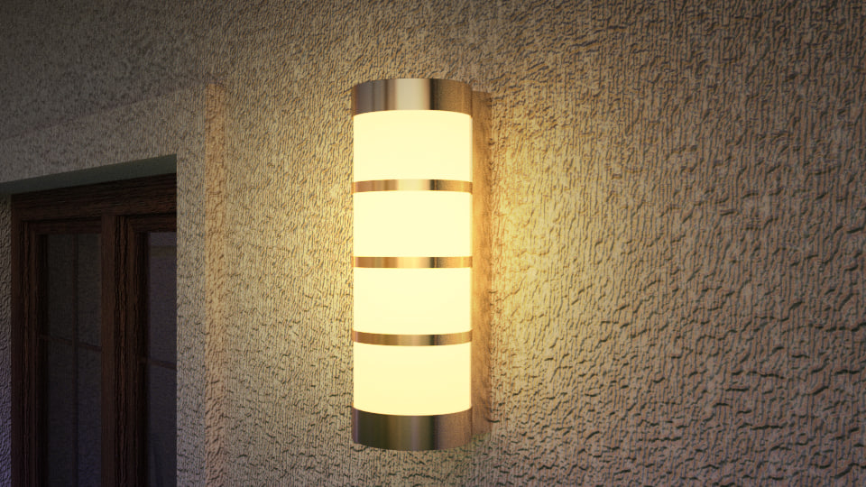 3D lamp sconce 01