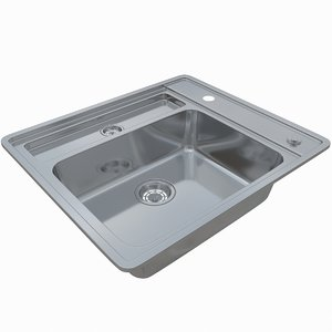 3D sink blanco statura 6-if
