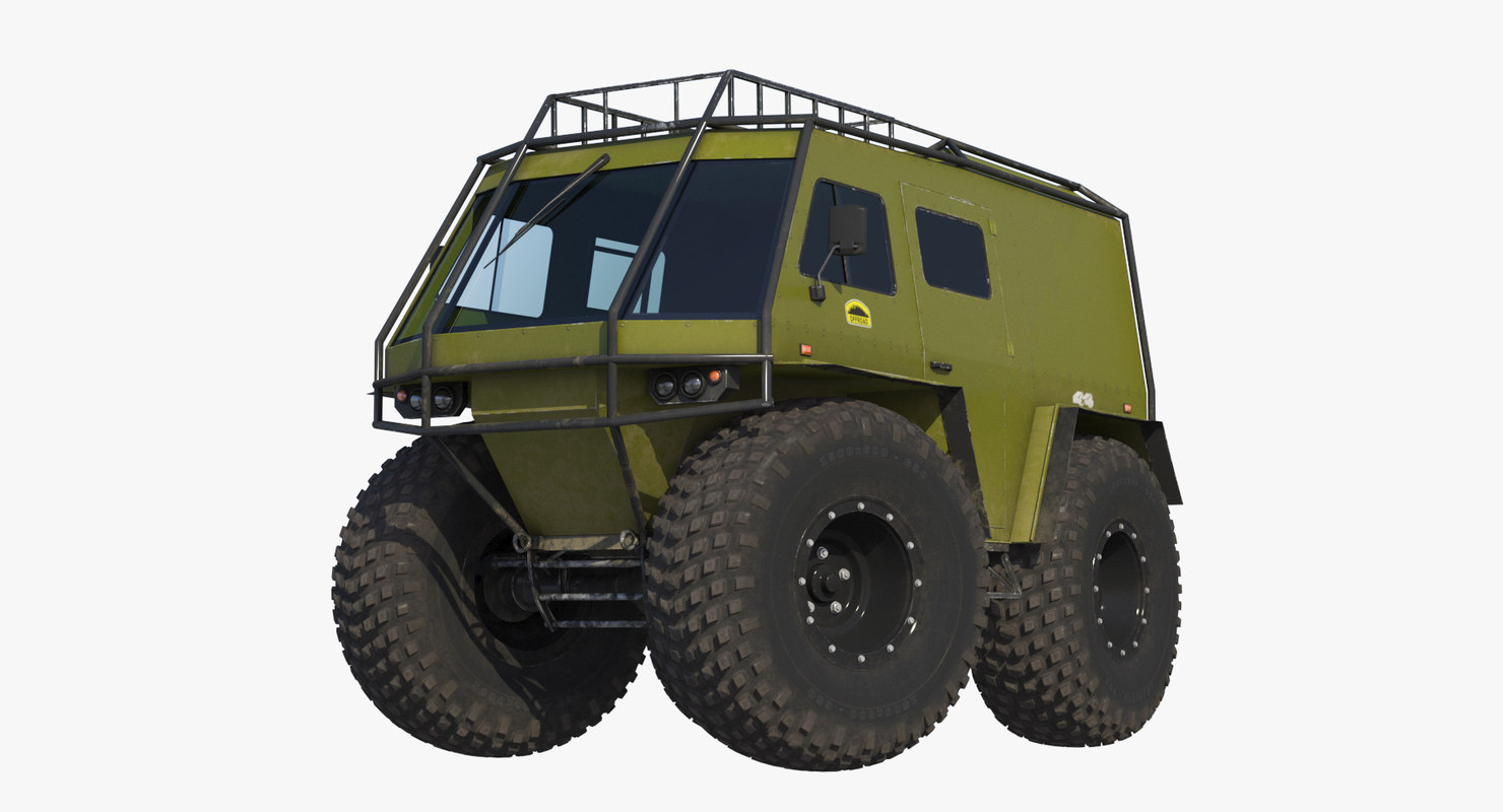 swamp buggy 3D