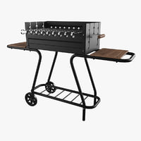 barbecue mousson vulcan 3D