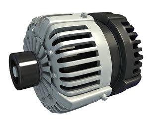 engine alternator 3D model