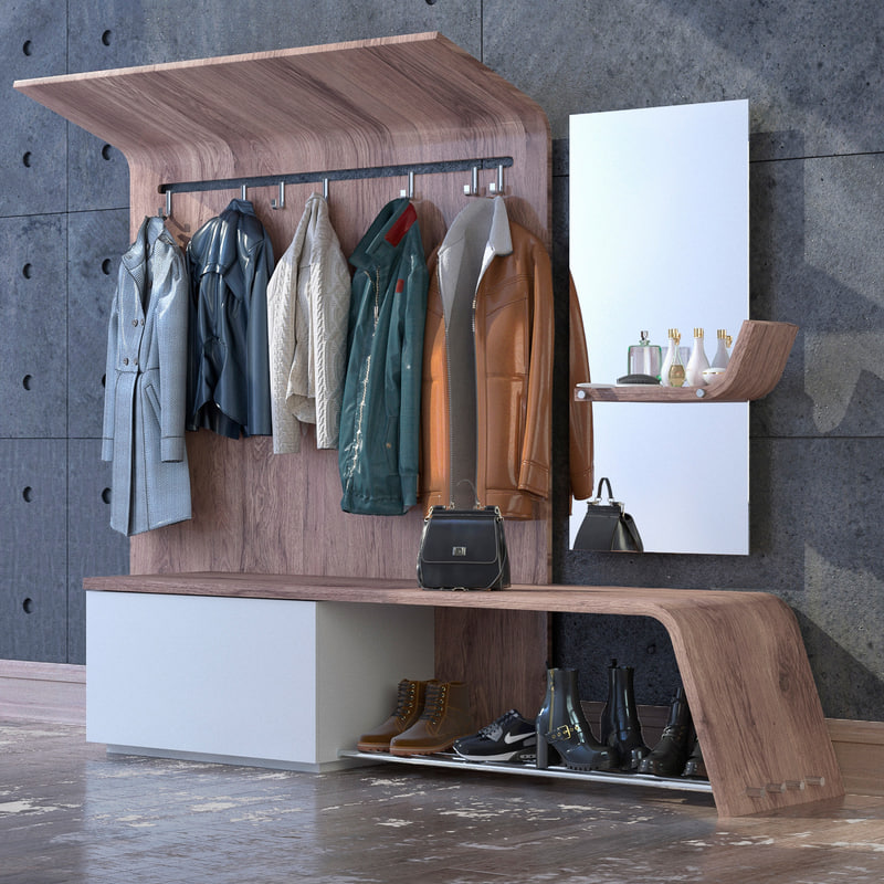 3D model clothes wardrobe