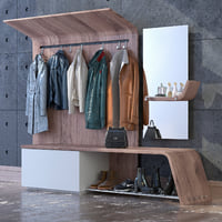 3D model clothes wardrobe