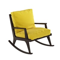 3D rocking chair potocco italy model