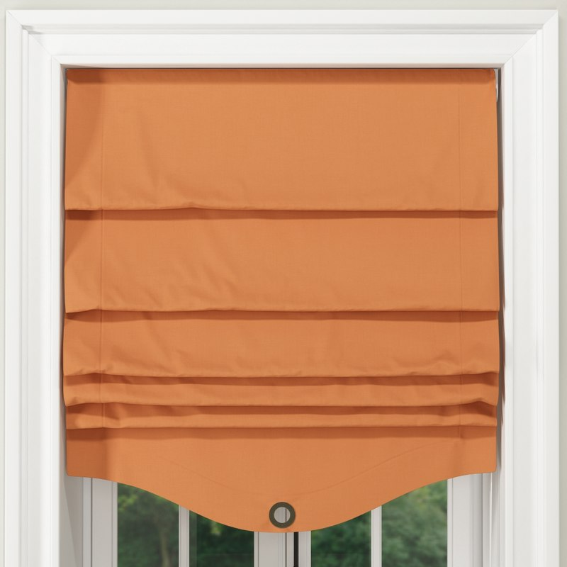 curtain window 700 mm 3D model