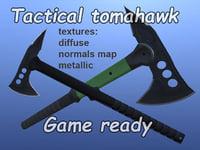 3D model tactical tomahawk