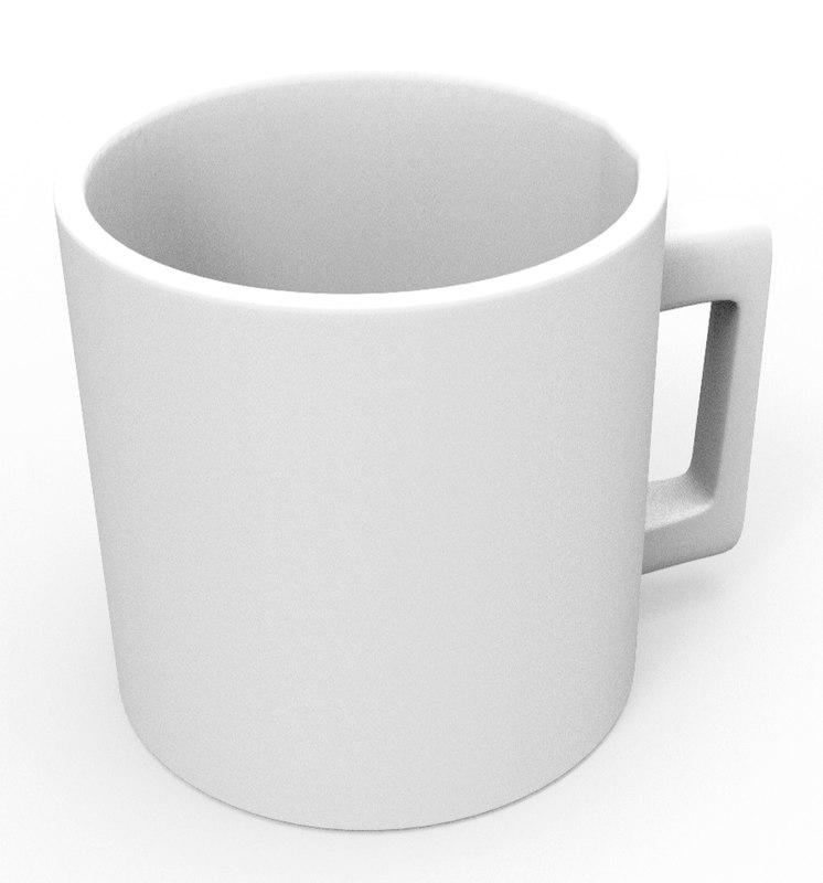 simple mug model