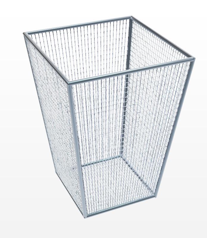 3D simple trash metal