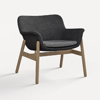 chair ikea vedbo 3D model