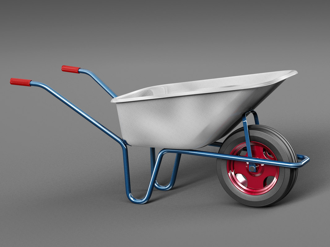 3D wheelbarrow work