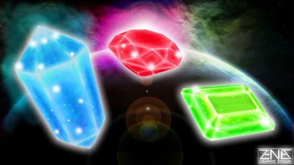 gems games assets 3D model
