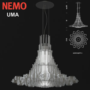 3D nemo uma pendant lamp