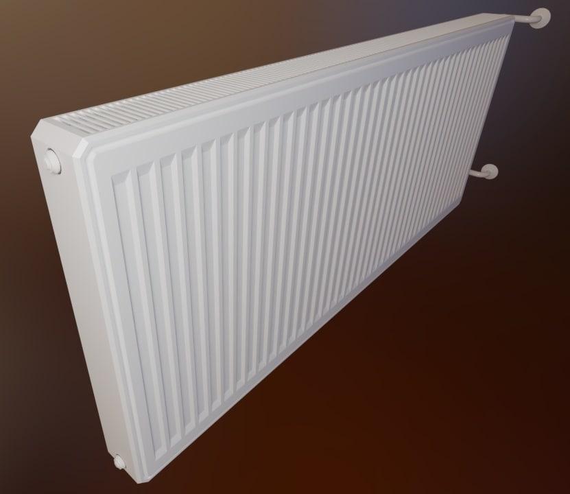 radiator heating 3D