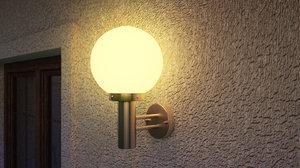 3D lamp sconce model