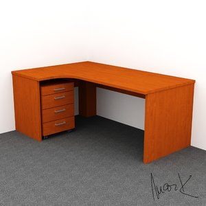 3D model work table