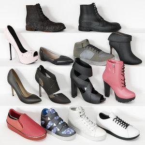 3D footwear model
