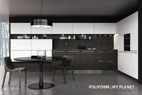 kitchen poliform planet handle model