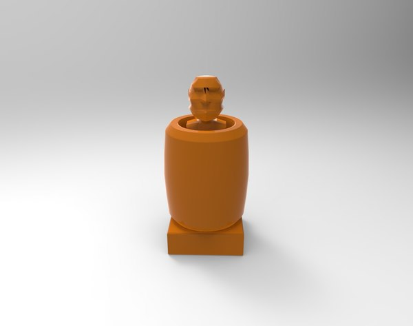 3D philippines barrel man model